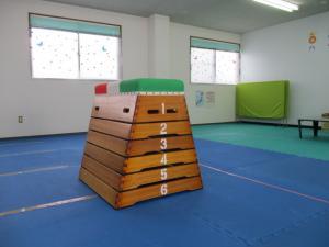 こどもプラス長野青木島教室の跳び箱
